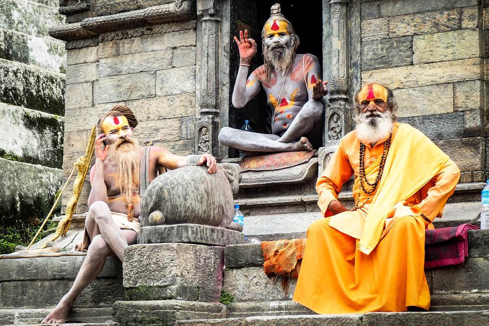 インドの修行僧サドゥー