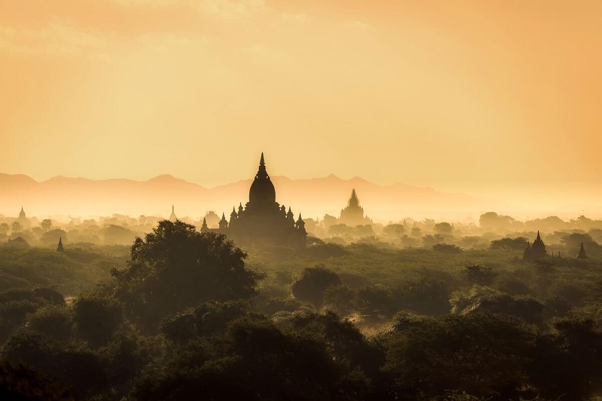 ミャンマー・バガン遺跡