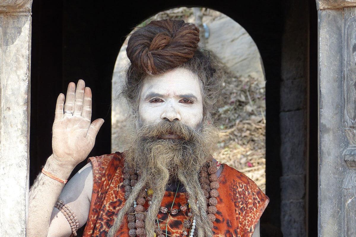 ネパールの修行僧サドゥ
