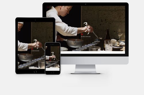 吉祥寺の江戸前寿司「鮨 まさ希」ホームページ制作